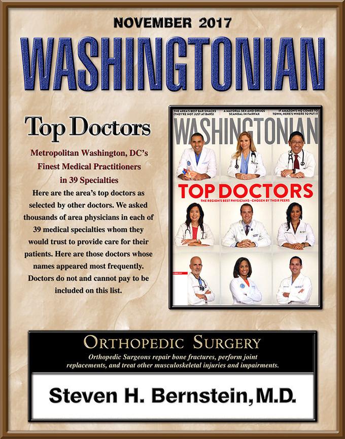 Steven H  Bernstein, Jr , M D  - Summit Orthopedics