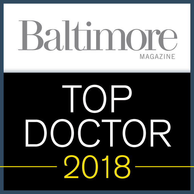 Dr. Steven Friedman, voted a 2018 Top Doc by Baltimore Magazine
